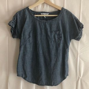 French Connection Denim Style Blouse